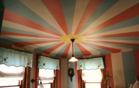 Circus tent painted ceiling | a new coat... | Pinterest