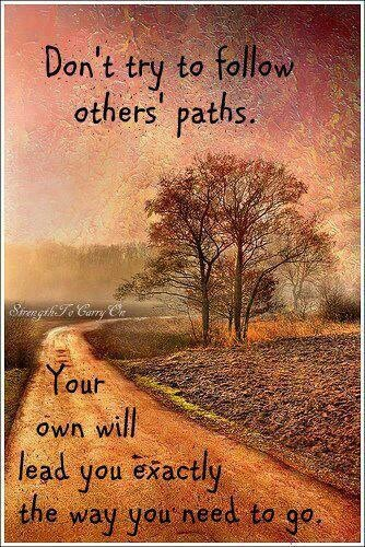 Image result for find your own path