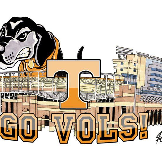 University Tennessee Smokey Clip Art