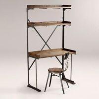 desk/shelf combo. | Kitchen | Pinterest