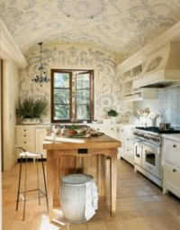 Kitchen love the dome ceiling | For the Home | Pinterest