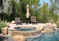 Hot tub and fire pit | Backyard Ideas | Pinterest