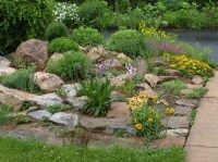 rock garden | Garden Paths | Pinterest