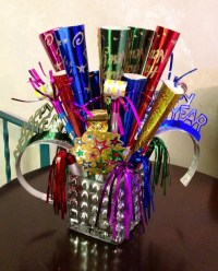 New Years centerpiece | My Projects | Pinterest