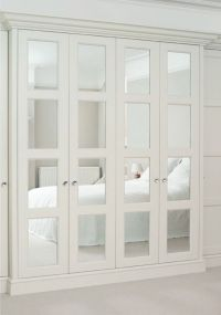 Wardrobe Closet: Wardrobe Closet With Mirrored Doors