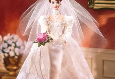 Romantic Rose Bride Barbie