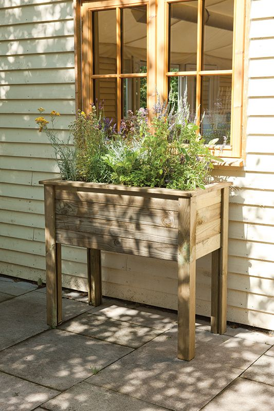 How Build Raised Garden Trough