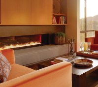 Pin Contemporary Corner Gas Fireplace Faber Home Interior ...