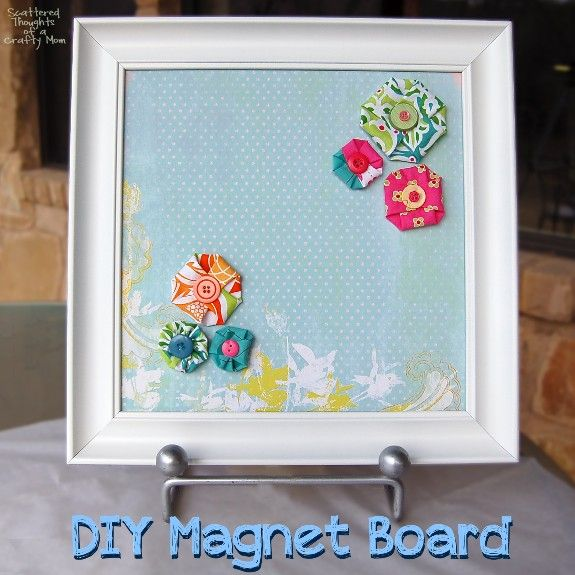 DIY Magnet Board and Magnets