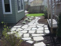 Stepping stone patio. | RE-MODEL | Pinterest