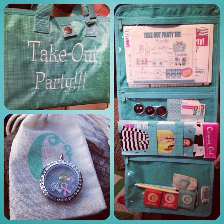 Origami Owl Take Out Party with the Timeless Beauty Bag from Thirty-One