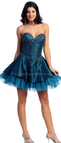 poofy short prom dress | {Clothing} | Pinterest