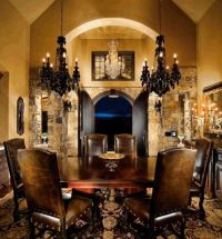 old world dining | MyVirtualHome | Pinterest