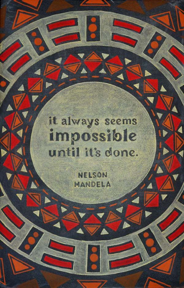 """It always seems impossible until it's done."" - Nelson Mandela  www.IESabroad.org"