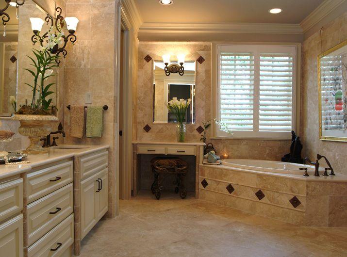 Master Bathroom Idea | Bathroom Remodel Ideas | Pinterest