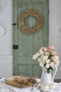 Shabby chic Fall decor   Beautiful things!   Pinterest