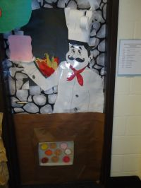 Community Helper door decoration. The only thing missing ...