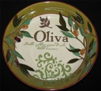 Certified International OLIVA Soup Pasta Salad Bowl ...
