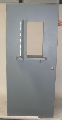 Wicket door: door within a door | Unique Steel Doors ...