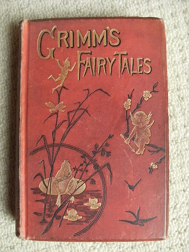 Antique Grimm's Fairy Tales :: if I could find a book like this...oh, I would devour it. I also might turn it into an art journal. a new life for something this glorious.