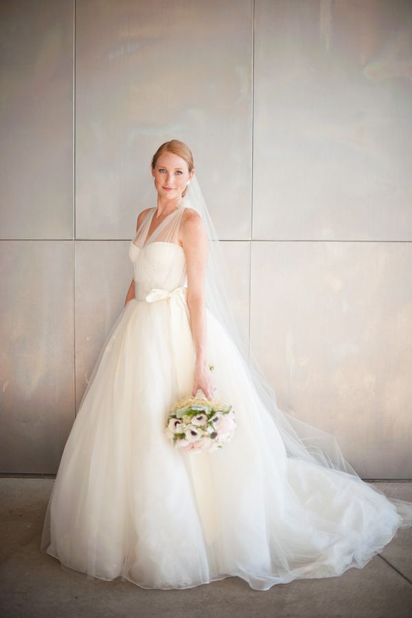 stunningly gorgeous tulle gown   Tim Will