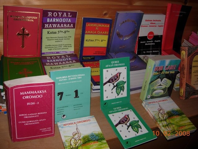 Collections of literatures of Oromian studies