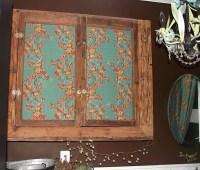 fabric cabinet doors | Craftsy Smaftsy | Pinterest
