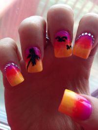Nail designs, Tropical Nail Designs | Nail designs | Pinterest
