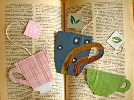 Diy Bookmarks : Diy a quick cup of tea