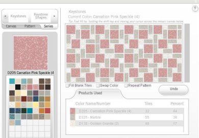 Design A Retro Bathroom Floor Tile With Dal Tile S Mosaic
