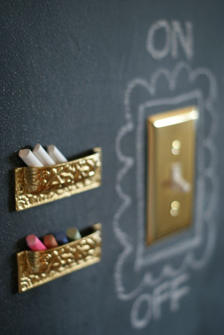 upside down drawer pulls for chalk holders