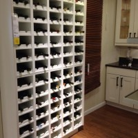 Ikea wine shelf. | Basement | Pinterest