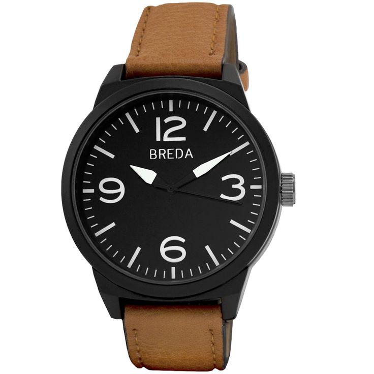 Men's  Stephen Watch In Brown | Breda Watches
