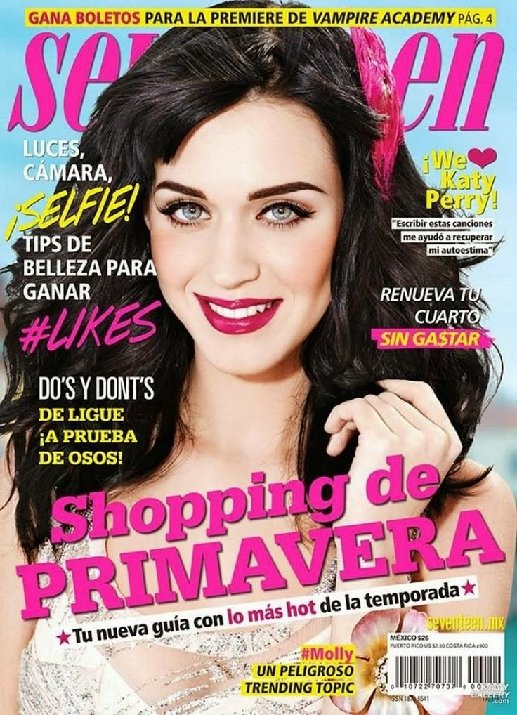 Katy Perry covers Seventeen Magazine Mexico March 2014 / Katy Perry ...