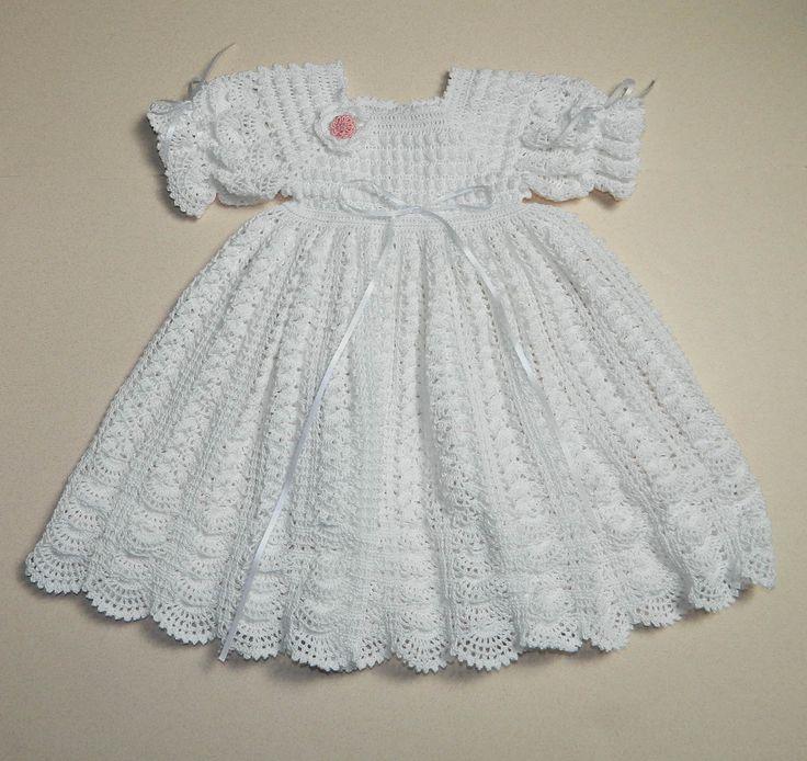 Baptism Dress Pattern For Crochet
