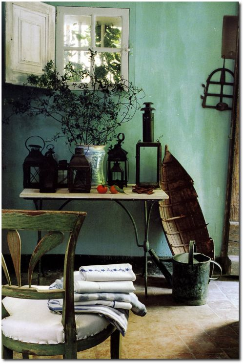 Annie Sloan Painted Wall Technique  Decor to Adore