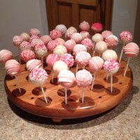 Homemade cake pop holder! | Fun Things to Make | Pinterest