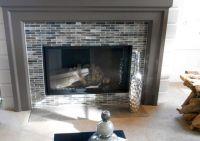 tile around fireplace ideas | Fireplace Surrounds | Pinterest