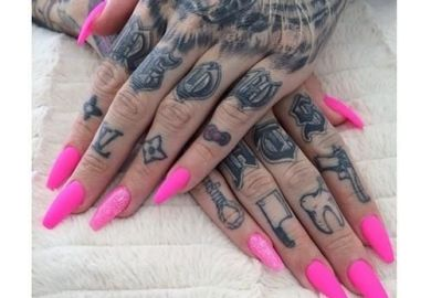 Images About Finger And Hand Tattoos On Pinterest