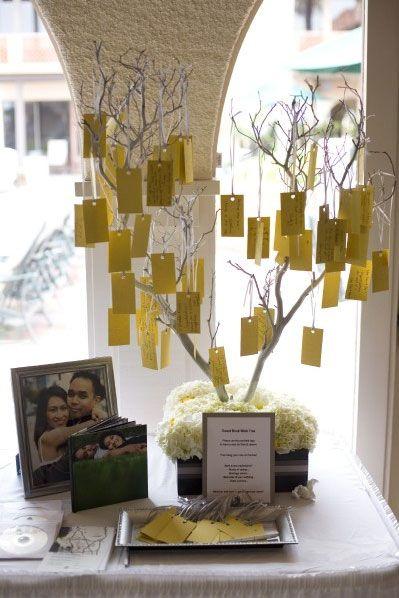 livre d'or version arbre à voeux