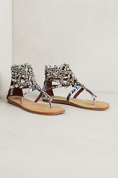 Diamant Sandals - anthropologie.com