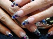 clear stiletto nails joy studio