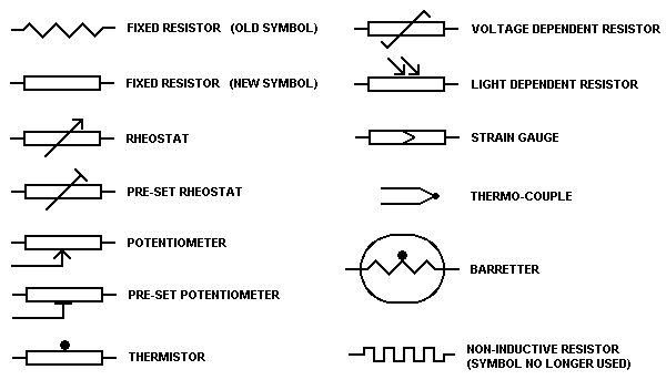 shunt resistor wiring diagram 95 ford ranger fuse symbols | electronics components pinterest