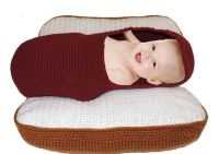NEW 502 BABY PILLOW HOT DOG | baby pillow