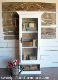 old gun cabinet makeover | furniture ideas to make | Pinterest