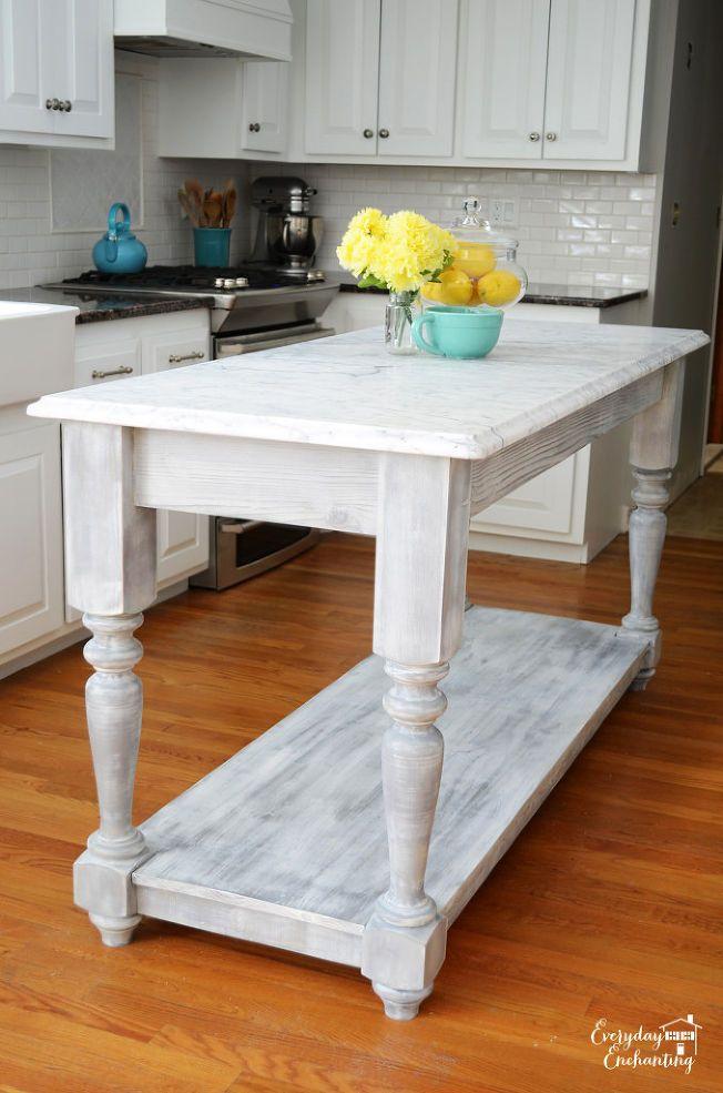 DIY FurnitureStyle Kitchen Island