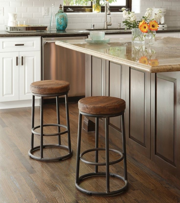 Industrial Rustic Counter Stool  Zin Home  Im Home