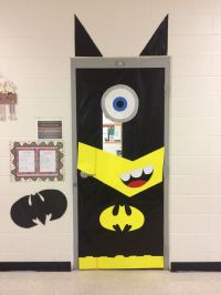 Batman Minion | School door decorations | Pinterest