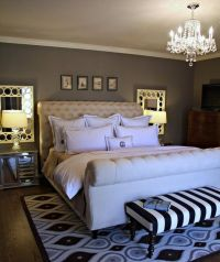 mirrors over nightstands | Decor Amoure | Pinterest