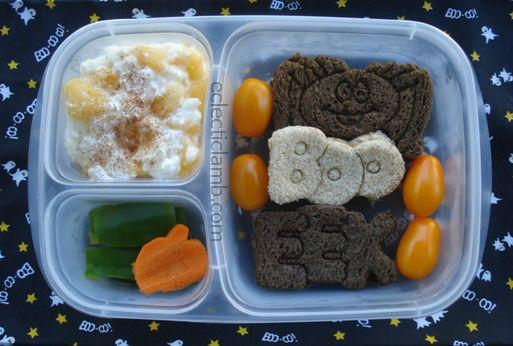 Boo Eek Halloween Lunch